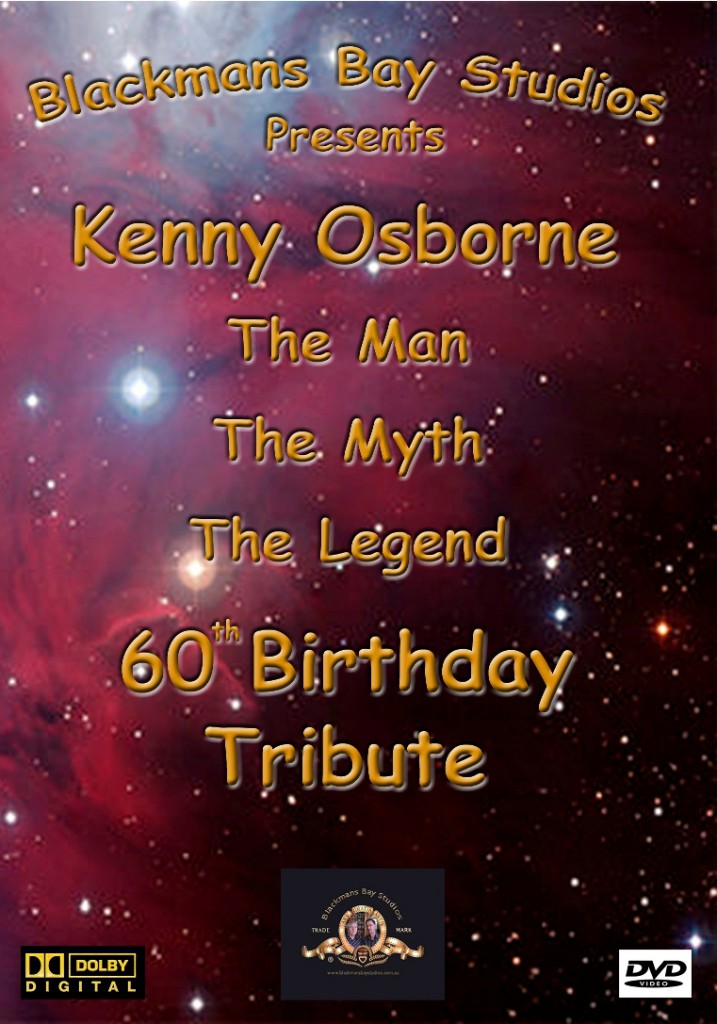 Kenny Osborne 60th DVD Cover